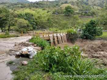 Desbordamiento del río Nechí en Caucasia Antioquia deja 100 familias afectadas - El Espectador