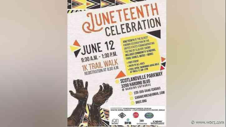 Pre-Juneteenth celebration to take place Saturday at Scotlandville BREC park