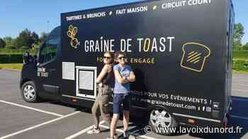 Graine de Toast à Seclin: deux sœurs ouvrent un foodtruck éco-responsable de tartines - La Voix du Nord
