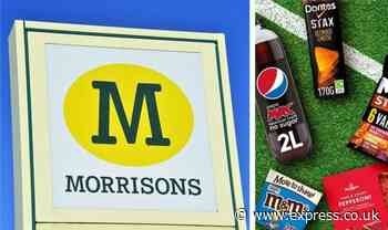 Morrisons shoppers can get beer offers and food bundles for Euros - plus a special pizza - Express