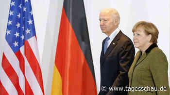 Joe Biden empfängt Angela Merkel Mitte Juli im Weißen Haus - tagesschau.de