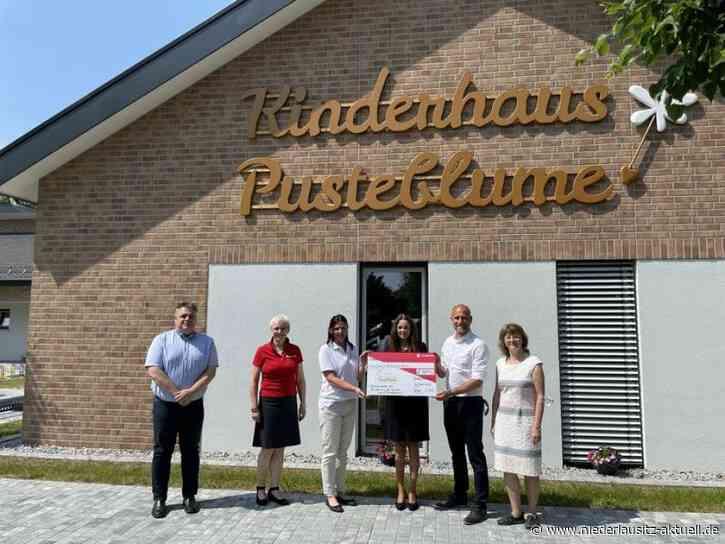 Kinderhaus Pusteblume in Burg wird mit 2.300 Euro unterstützt