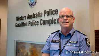 """Geraldton's top cop passes on the baton for """"new challenge"""" in Perth posting - The West Australian"""