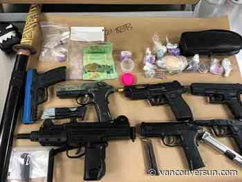 Surrey RCMP seize fake guns and real drugs during traffic stop - Vancouver Sun