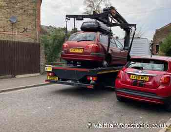 Council kerfuffle over wheel-less car - Waltham Forest Echo