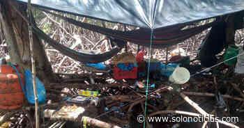 Incautan armas, munición y chalecos tipo militar en campamento de pandilleros en Usulután - Solo Noticias