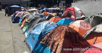 Cumple 4 meses campamento de migrantes en garita El Chaparral - ELIMPARCIAL.COM