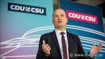 CDU/CSU-Fraktion legt 40-Punkte-Plan vor - Union will Deutschlands Verwaltung umkrempeln - Merkur.de