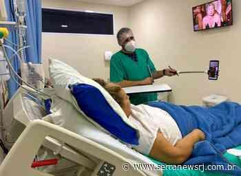 Pacientes com Covid-19 recebem tratamento privilegiado no CTI de Cantagalo - Serra News