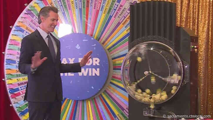 2nd Round Of $50K Winners In California's Vaccine Lottery To Be Chosen On Friday