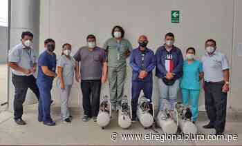 Sullana: donan 5 compresoras de aire para alto flujo - El Regional