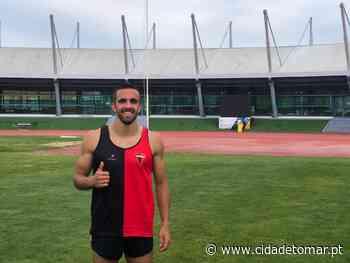 Manuel Dias, do U. Tomar, alcançou mínimos para o Campeonato da Europa de Sub-23 - Cidade de Tomar