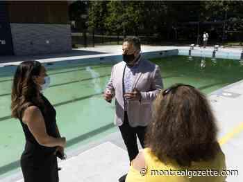 Pierrefonds-Roxboro inaugurates new Versailles Gardens community pool - Montreal Gazette
