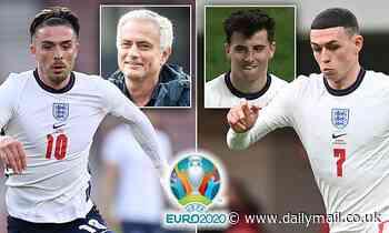 Euro 2020: Jose Mourinho names his England team for opener against Croatia