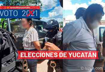 Yucatán: Tres personas son detenidas en Ticul por presunta compra de votos - sipse.com