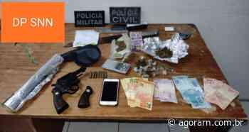 Polícia Civil prende suspeito de integrar facção criminosa em Serra Negra do Norte - Agora RN