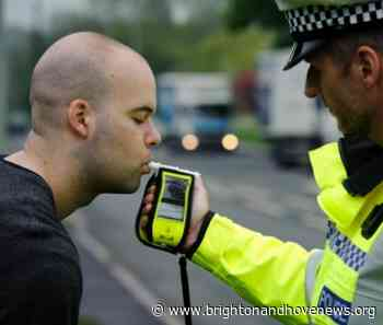 Penalty warning as annual summer drink and drug driving crackdown coincides with Euro 2020 football tournament - Brighton and Hove News
