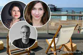 Brighton and Hove's award-winning authors to perform at i360 - The Argus