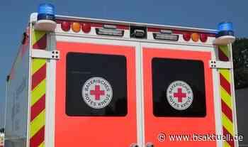 Wertingen: Motorradfahrer beim Wenden vom eigenen Bike verletzt - BSAktuell
