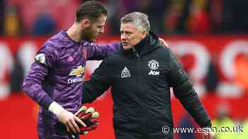 Sources: De Gea uncertain about Man Utd future