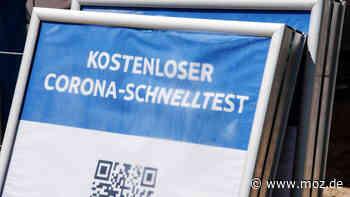Corona in Oder-Spree: In Erkner sind Corona-Tests jetzt nur noch in einer Teststelle möglich - moz.de