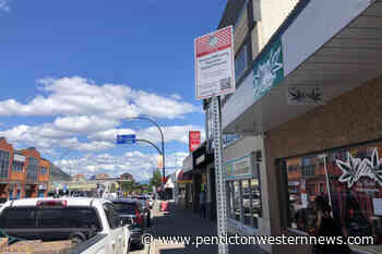 Penticton city offers four spots for 10 minute free parking on Main Street – Penticton Western News - Penticton Western News