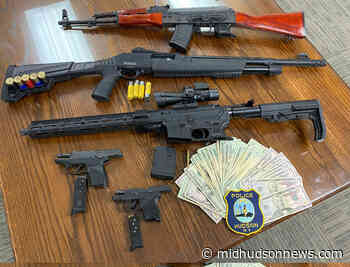 Weapons cache seized by Hudson City Police - Mid-Hudson News
