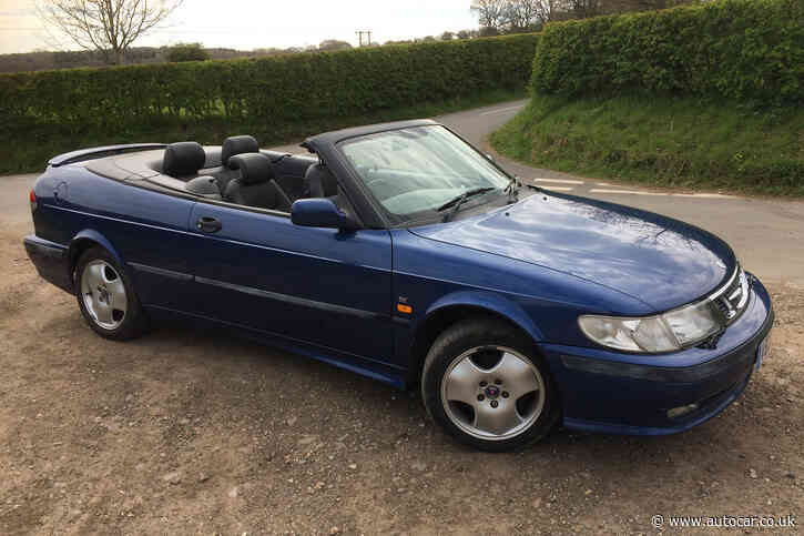 Buying a £1000 Saab from a hidden car collection