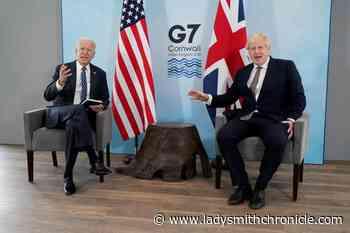 G-7 gathers to pledge 1B coronavirus vaccine shots for world - Ladysmith Chronicle