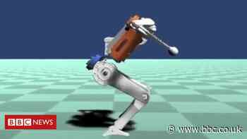 Simulated robot performs realistic acrobatics and other news