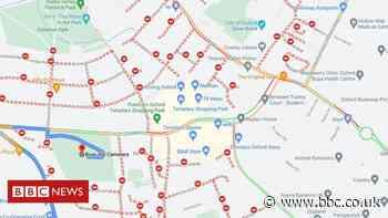 Map glitch 'closes' dozens of Oxford's roads