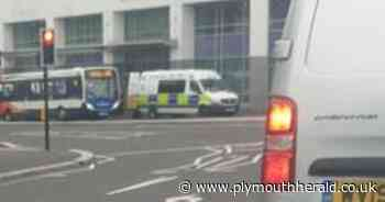 'Police in riot gear' outside Jury's Inn hotel in Plymouth city centre - Plymouth Live