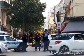 Accident entre une voiture et un piéton rue Clemenceau à Vichy (Allier) - La Montagne