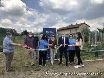 Inaugurato orto urbano a Collegno - Quotidiano Piemontese