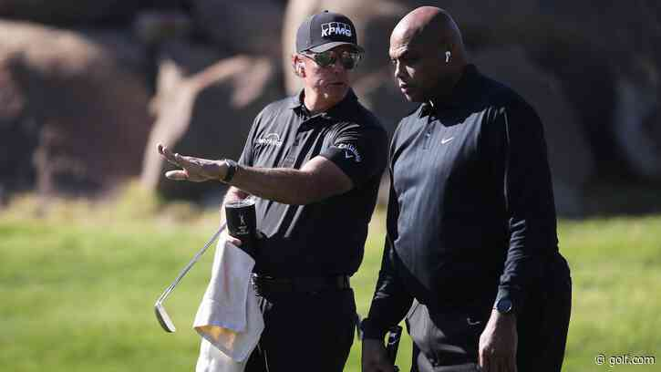 'Phil is that annoying friend': Charles Barkley roasts Phil... - Golf.com