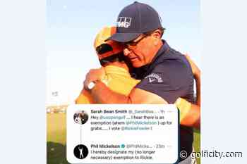 Phil Mickelson Wants Rickie Fowler to Take His US Open Exemption Spot - Golficity