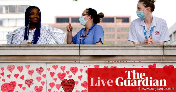 Covid live: UK reports 8,125 daily cases, most since February, as doctors call for delay to lockdown easing