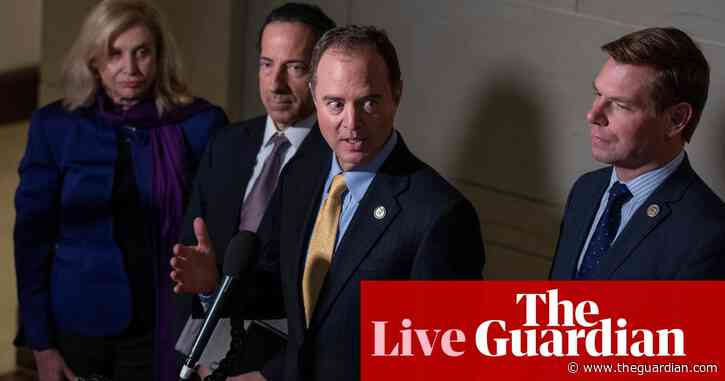 House Democrats outraged that Trump justice department seized their data – live