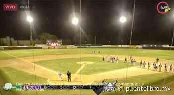 Dorados abre con triunfo 11-5 ante Faraones de Nuevo Casas Grandes en el estatal - Puente Libre La Noticia Digital
