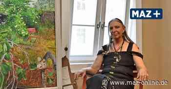 Malerin Astrid Wittkopp stellt in der Bibliothek Wittstock aus - Märkische Allgemeine Zeitung