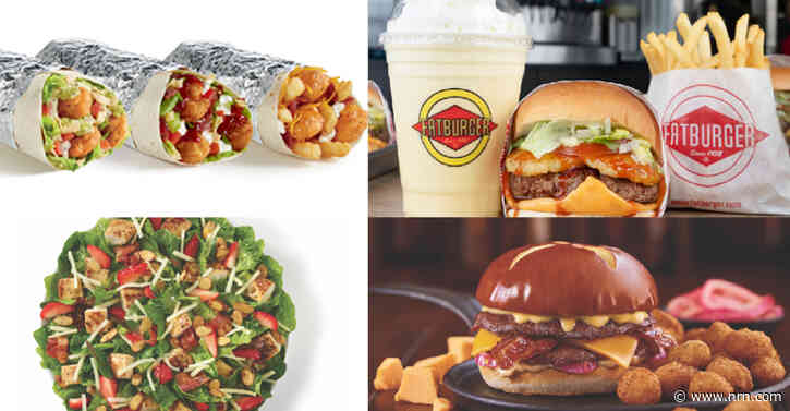 Menu Tracker: New items from Culver's Del Taco and Wendy's