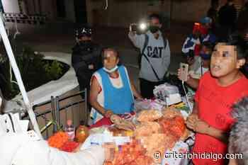 Ambulantes de Tepeji se tendrán que ir: edil - Criterio Hidalgo