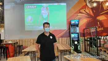Mayenne : le bar Chope et Compagnie concilie retransmission de l'Euro de foot et respect des règles sanitaires - France Bleu