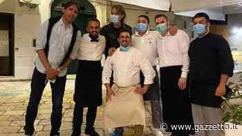 Per i  fratelli Inzaghi serata a Monopoli: cena di mare per due panchine