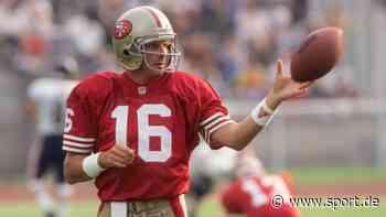 NFL | American Football: San-Francisco-49ers-Legende Joe Montana wird 65 - sport.de
