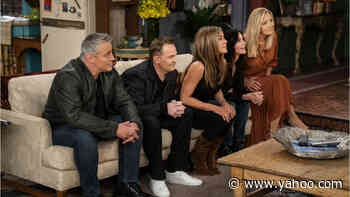 """Why Were Paul Rudd & Cole Sprouse Missing From the """"Friends"""" Reunion? - Yahoo Entertainment"""