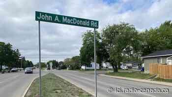 Le processus pour renommer le chemin John A. Macdonald à Saskatoon enclenché - Radio-Canada.ca