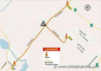 Entrave majeure à l'intersection de la rue Beaubien et du chemin Lebel à Rivière-du-Loup | infodimanche.com - Info Dimanche