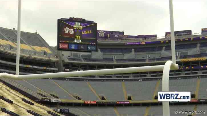 LSU officially opening Tiger Stadium for tours