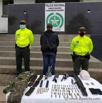 Cascarero cayó con armamento, buscaba rearmarse en Samaná - La Patria.com